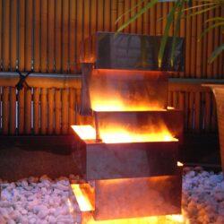 銅板ランプ4
