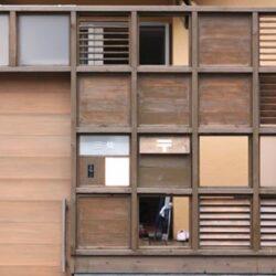 多目的格子の家14